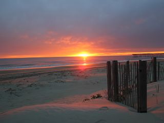 Nags Head cottage photo - Walk across the street and start your day at sunrise!