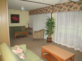 Den with Queen sleeper sofa and privacy screen - North Naples condo vacation rental photo