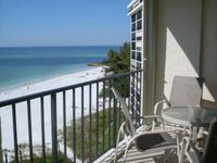 Beachfront Condo with Heated Pool and View