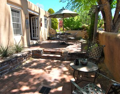 Courtyard Patio with Dining and Sitting Areas