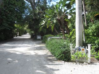 Beach is at the end of our private lane - no streets to cross. - Captiva Island house vacation rental photo