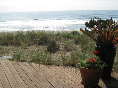 Lincoln City townhome rental - View from the lower deck