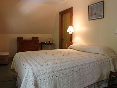 Fairlee cottage rental - Bedroom #1 Queen
