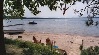 Lake City cottage photo - Lake Missaukee. The east side. $1695. Picture yourself here for the summer.