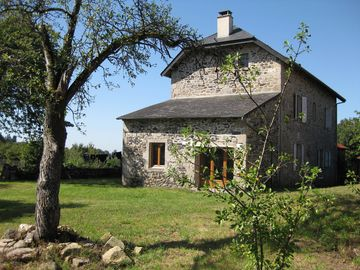 Bassignac le Haut farmhouse rental - The house