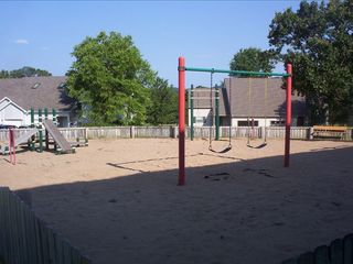 Branson condo photo - playground in back of condo