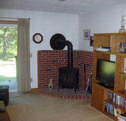North Conway condo photo - Gas fireplace