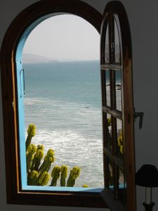 Riad, exceptional setting, by the water, in Agadir bay