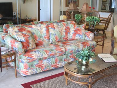 Gulf Shores condo rental - Sofa - Queen Sleeper