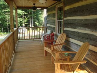 Amherst cabin photo - Front porch