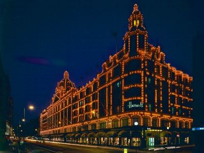 Harrods is only a short bus ride away