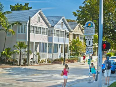 View of property at Mile 0 Monument in Old Town Key West