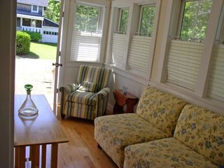 Oak Bluffs house photo - in-law suite sitting area w/exterior entrance by additional rear parking area,