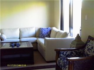 Aruba villa photo - comfortable sectional sofa