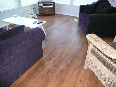 Laminate flooring for your comfort.