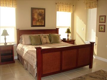 South Padre Island condo rental - Spacious Master Bedroom with King