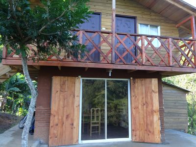 Two log cabins at the top of a large river, exceptional views, 6000 m2