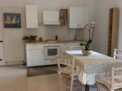 The holidays of Evelina in comfortable accommodation to the sea