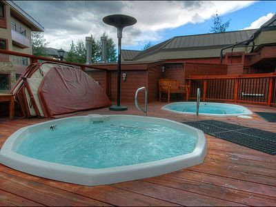 Relax in the Shared Outdoor Hot Tub