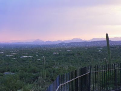 Tucson house rental - Incredible unobstructed views of the city