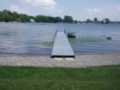 Beach and 50' private dock.