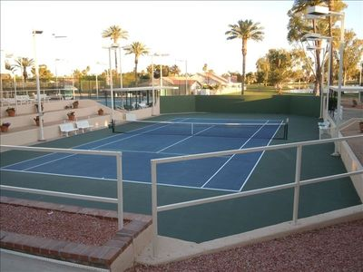 Tennis Courts @ Cottonwood Club House