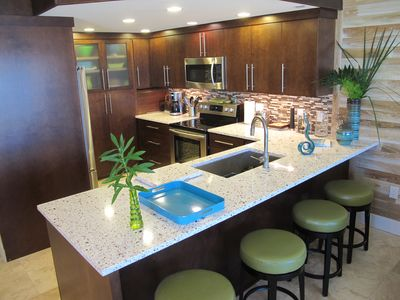 Seagrove Beach condo rental - Bar sits four comfortably.