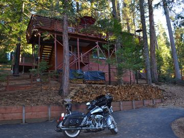 Arnold cabin rental - Welcome to the TWISTED OAK CHALET in beautiful Blue Lake Springs, Arnold.