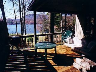 Lake Toxaway house photo - View From Main House Deck