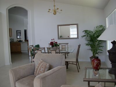 Seasons villa rental - Living Room