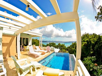 Beachfront Luxury Villa with Pool on White Bay, Jost Van Dyke (BVI)