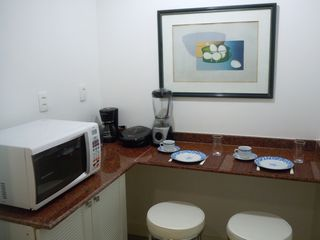 Ipanema apartment photo - Coffee maker , blender , sandwich toaster and various kitchen's utensils