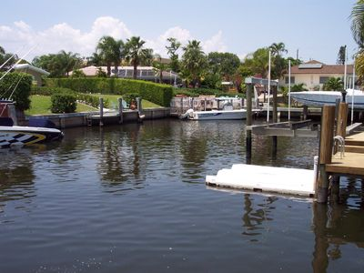 Second side of the canal and small boat pad