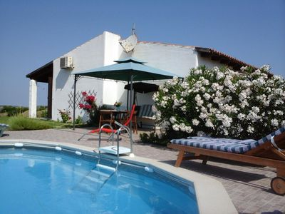 Su Acchile&Su Pasciale  sardinia villa in the countryside with pool near to sea