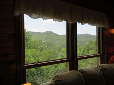 Mountain Lodge Realty Moonshine Ridge View from Living Room - 1