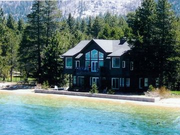 Stateline house rental - Just steps away from Lake Tahoe! This photo in high water year!