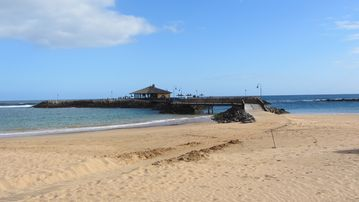 Scenes of Fuerteventura - Beach Cafe near Fushi