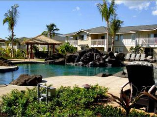 Ko Olina estate photo - Kai Pool Area with BBQ grills and hot tub