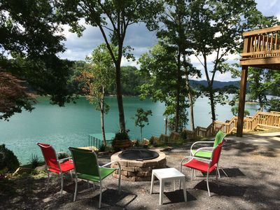 Fabulous Fall Colors With Private Dock On Beautiful Norris Lake.