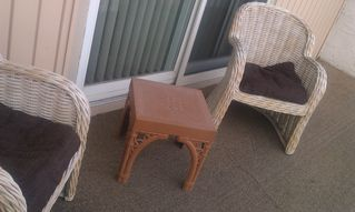 Brigantine condo photo - Patio seating.
