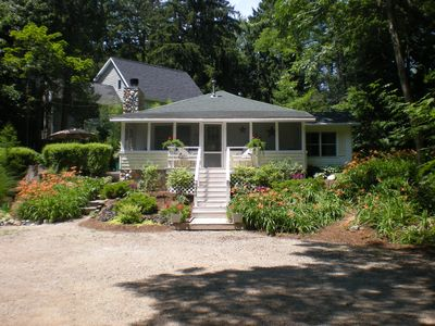 Saugatuck / Douglas cottage rental - It's a classic! Time to reserve your Fall 2013 rental.