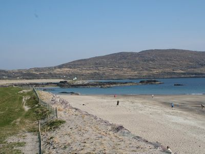 The Blue Flag beach at Derrynane