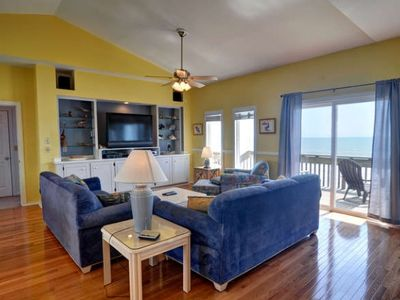 Surf City house rental - Living Area