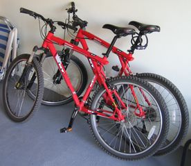 Maldonado farmhouse photo - TWO GT MOUNTAIN BIKES.