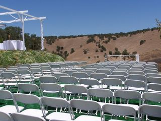 Lake Nacimiento house photo - Wedding seating