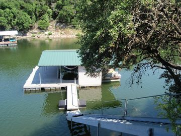 Great Boat Dock in Protective Cove