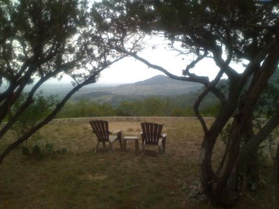 Bandera cabin rental - My favorite place to relax and let the world go by