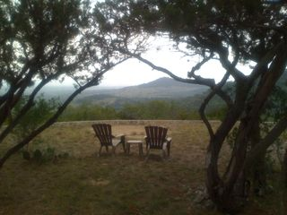 Bandera cabin photo - My favorite place to relax and let the world go by