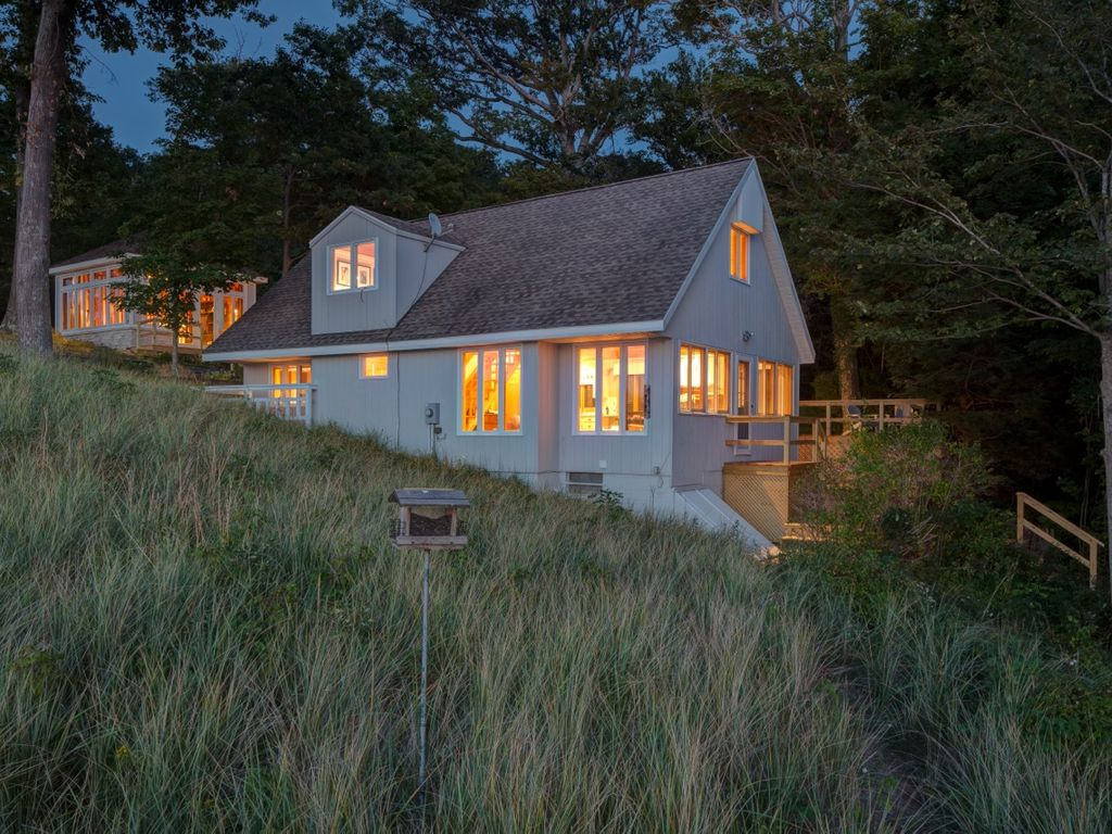 Private Lake Michigan Beachfront Cottage Homeaway
