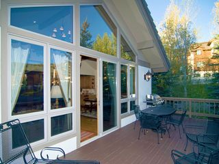 Steamboat Springs house photo - Front deck with grill